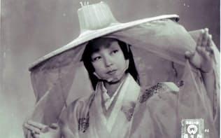 黒澤明監督「羅生門」の京マチ子さん (C)KADOKAWA1950