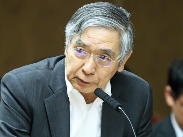 日銀の黒田総裁(14日)