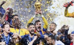 18年ロシア大会ではフランスが優勝した
