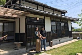 オオミシマスペースの増田茂樹さん(右)と理絵さん