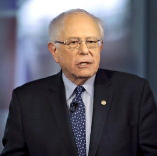 サンダース上院議員は20年の選挙公約に「国民皆雇用」を掲げる=AP