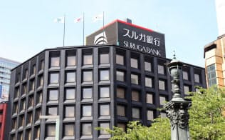 創業家所有のビルに入居する東京支店(30日、東京・日本橋)