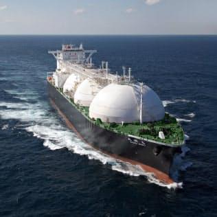 LNGの世界需要は拡大が予想される