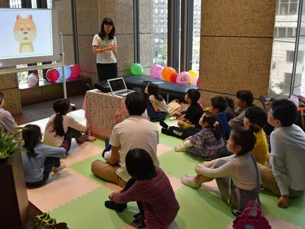 子ども向けマネー教室ではお金の使い方を分かりやすく解説する(コモンズ投信の「こどもトラストセミナー」)