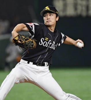 5回1失点で白星を挙げたソフトバンク・和田