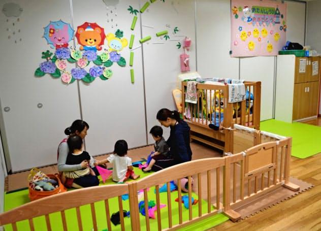 国に先行して0~5歳児の幼児教育・保育を無償化した大阪府守口市内の認定こども園