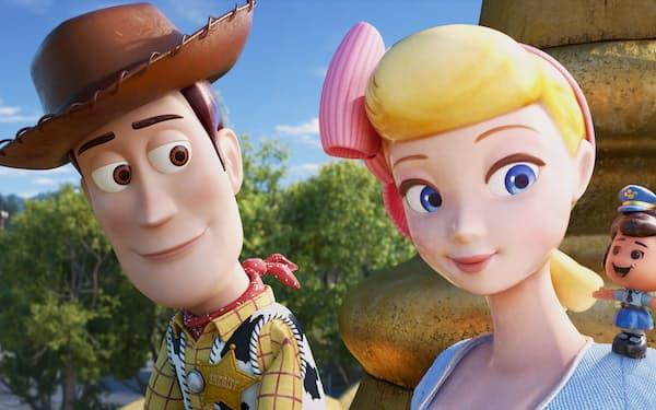 東京・有楽町のTOHOシネマズ日比谷ほかできょう公開(C)2019 Disney/Pixar. All Rights Reserved.