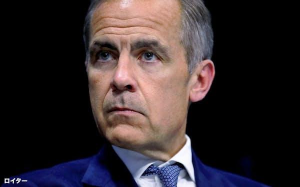 イングランド銀行のカーニー総裁(16日、パリ)=ロイター