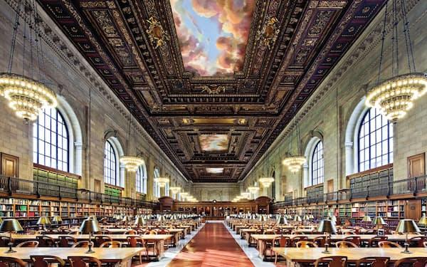 映画の舞台であるニューヨーク公共図書館=同図書館提供