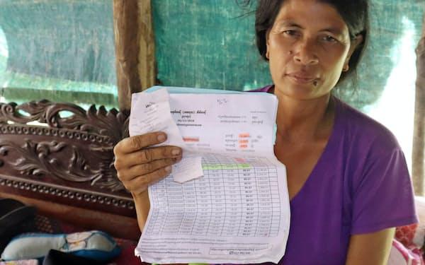 過剰債務者が増えている(カンボジア北西部シエムレアプ)=ショーン・タートン撮影