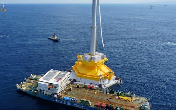 日立製作所は風力発電機の生産から撤退する=資源エネルギー庁提供