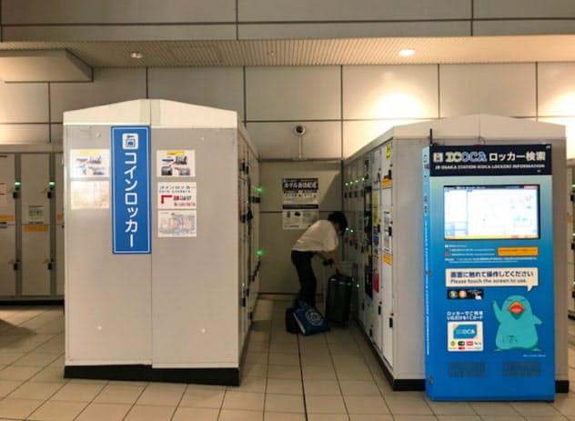 大阪駅では平均1日1回以上使われる