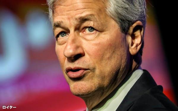 「株主第一主義」の見直しをけん引した米JPモルガン・チェースのダイモンCEO=ロイター
