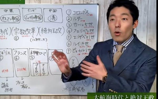 中田敦彦さんによる Youtube大学の一場面