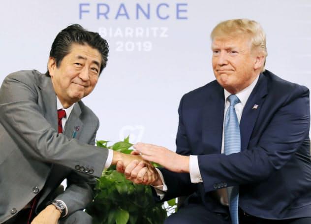 日米首脳、貿易交渉で合意 農産品関税TPP並み