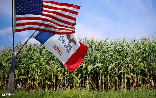 アイオワはトウモロコシの生産で全米1位だ=ロイター