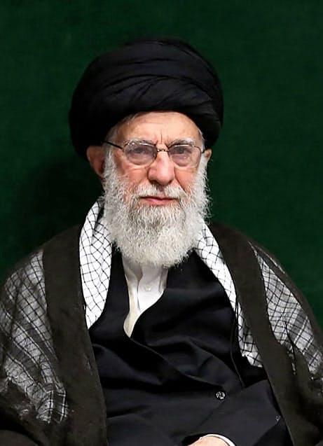 イラン最高指導者ハメネイ師(10日、テヘラン)=AP