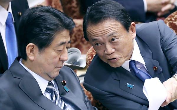 麻生氏は第2次安倍政権発足当初から一貫して首相を支えてきた