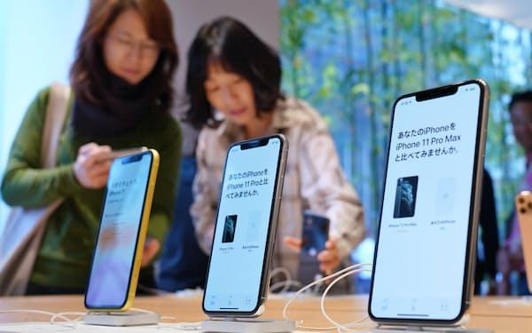 「iPhone11」には日本メーカーの電子部品が数多く搭載されている