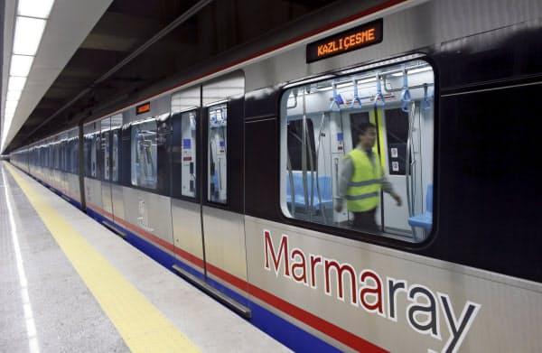 10月29日 ボスポラス海峡横断地下鉄開通の日