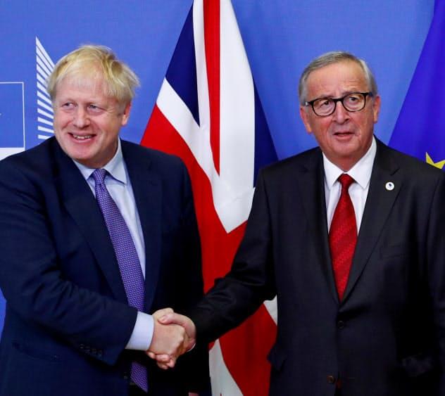 英・EU、離脱条件で合意