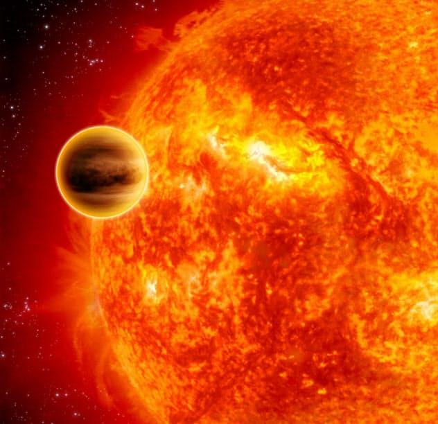 初めて見つかった太陽系外惑星は、それまでの常識を覆すものだった=NASA/JPL-Caltech提供