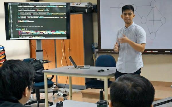 仮想通貨を題材にブロックチェーン技術を学ぶ(9月、アテネオ大学)