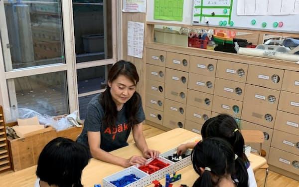 無償化は子育て世帯の負担を減らす狙い(東京都港区の認可保育所)