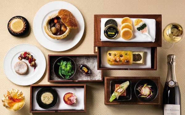 キャビアなど豪華食材を使った帝国ホテル東京の新春メニュー「BENTO」