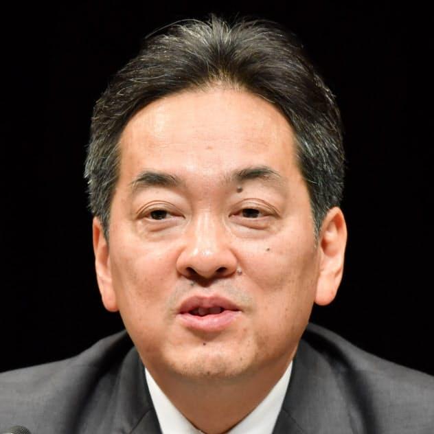 三越伊勢丹HDの杉江俊彦社長
