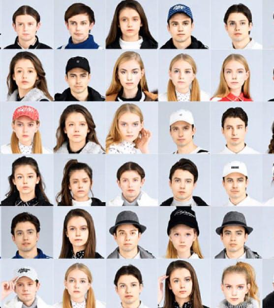 データグリッドが本間ゴルフ向けに作った「実在しない」人々の顔