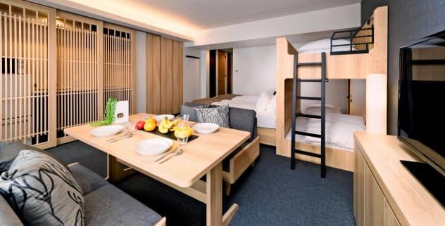大部屋ホテル、訪日客集う 不動産各社が開発急ぐ