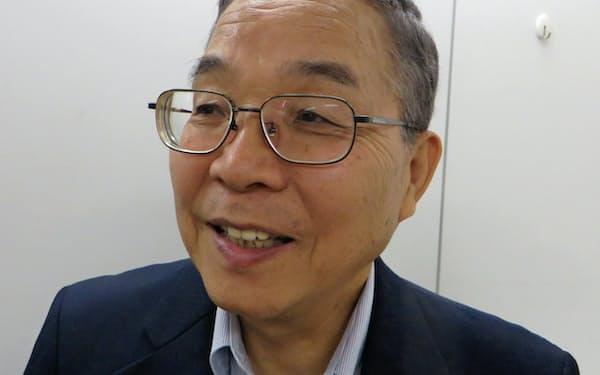紫光集団高級副総裁の坂本幸雄さん