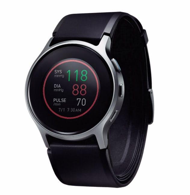 オムロンは年内にも腕時計型の血圧計を販売する