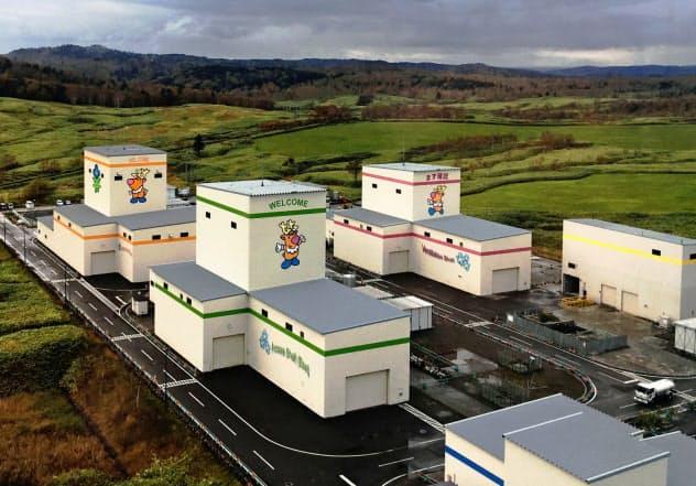 放射性廃棄物の地層処分技術の研究が進む幌延深地層研究センター(北海道幌延町)