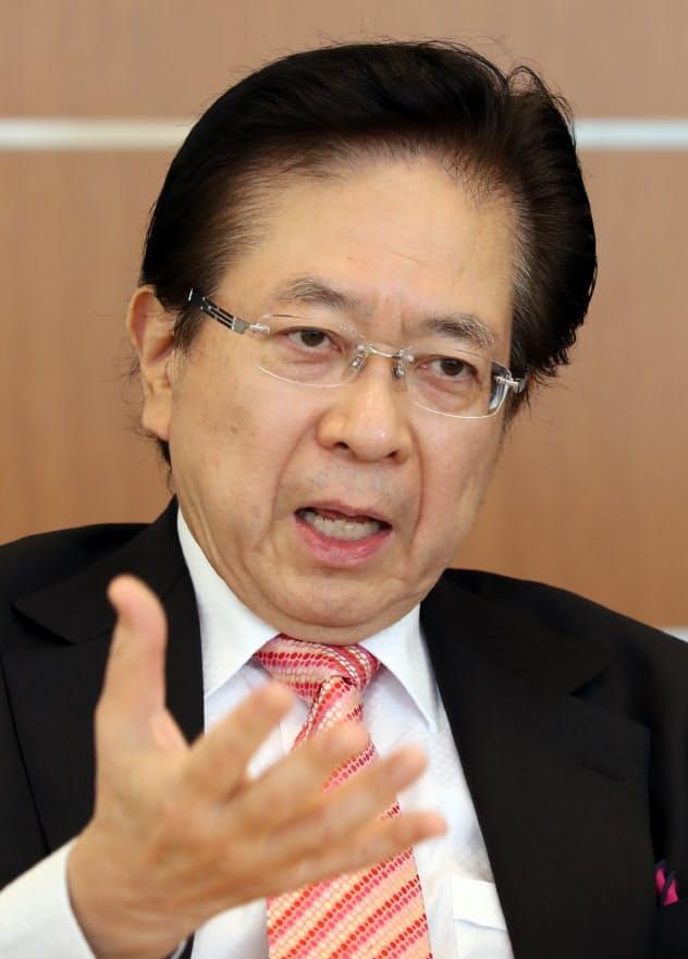 本田悦朗氏
