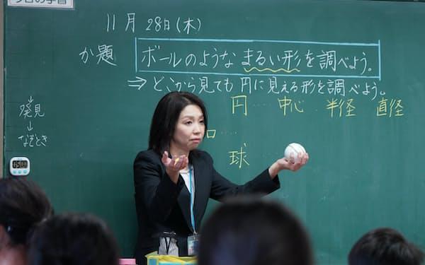 読解力を養うことを意識した授業(埼玉県戸田市の市立笹目小学校)
