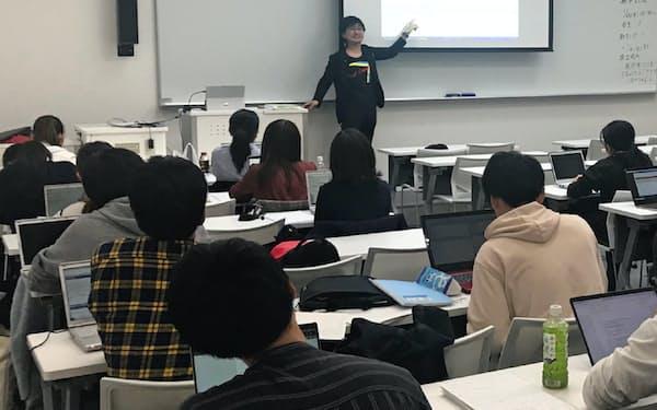 多くの学生がデータサイエンスを通じて企業や自治体の課題を発見、解決するスキルを学ぶ(横浜市)