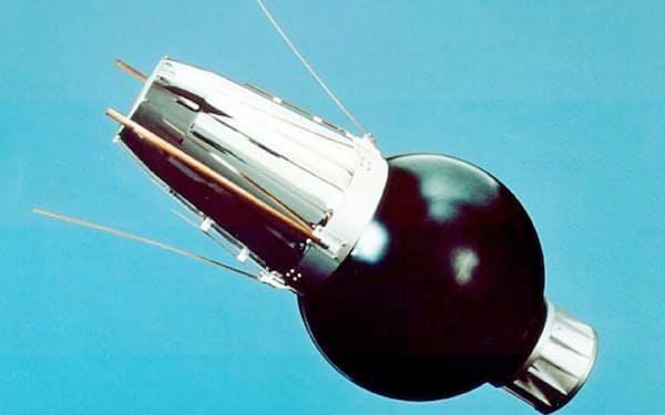 日本初の人工衛星「おおすみ」=JAXA提供