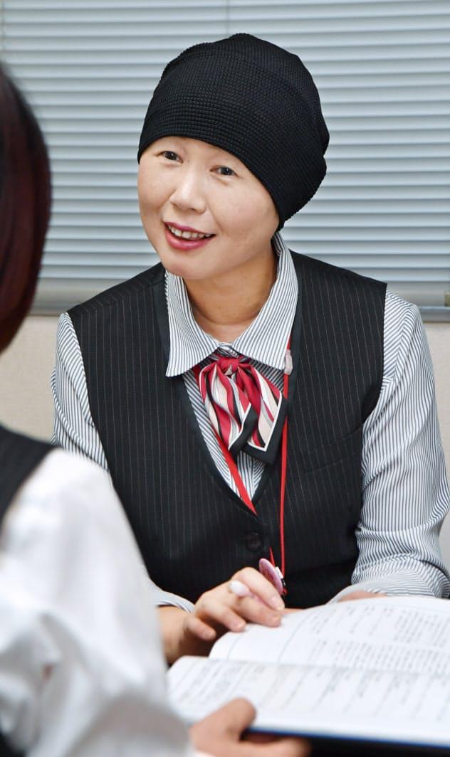 がん治療をしながら働く村田さん
