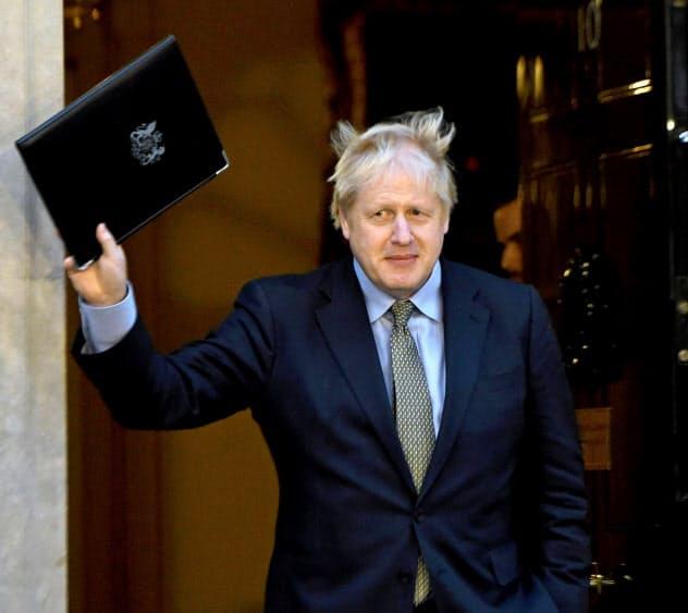 「奇策」早期解散、英で批判少なく 総選挙
