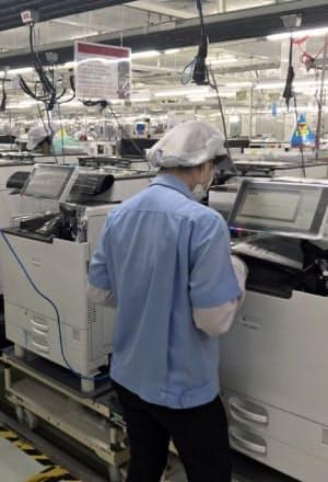 リコーはA3複合機の製造用電力を再生エネ100%に転換(タイの工場)