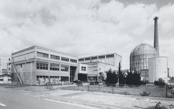 日本原子力研究所の動力試験炉(茨城県東海村)