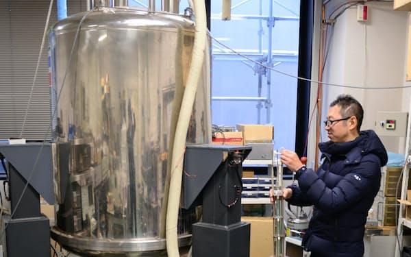量子コンピューターの素子を目指して原子核を解析する(大阪府豊中市の大阪大学)