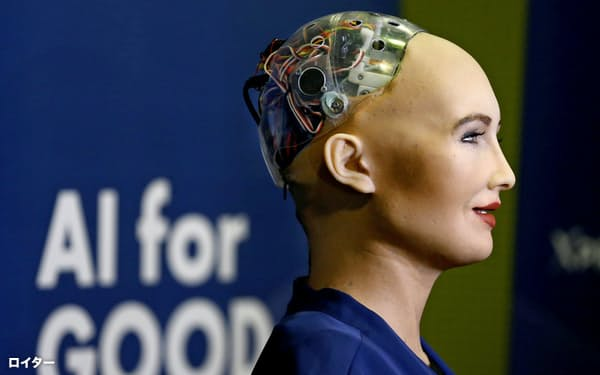 香港ハンソン・ロボティクスが発表したAIロボット。技術革新への不安もあるが、すべては使い方だとエコノミスト誌は指摘する=ロイター