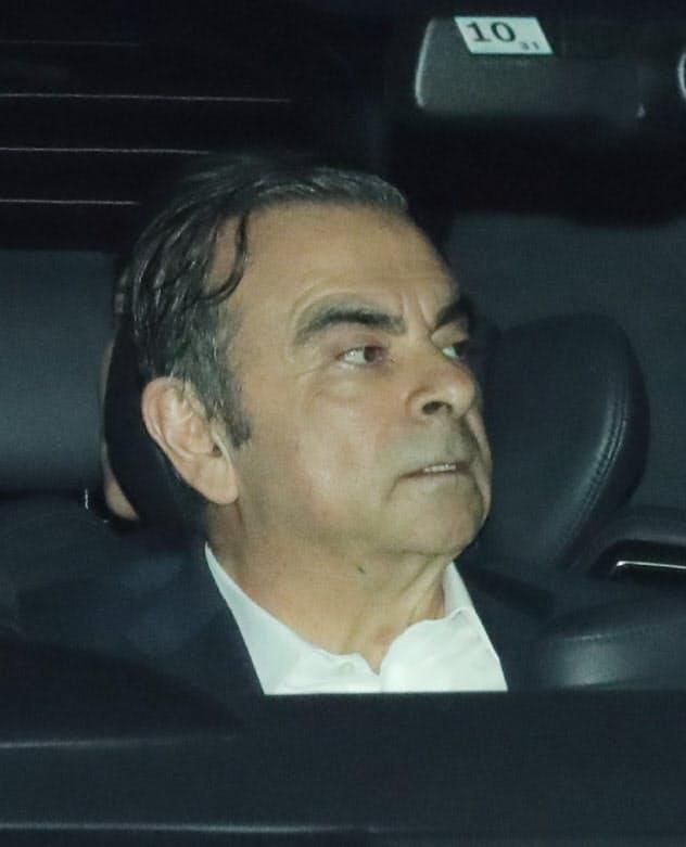 ゴーン元会長は海外でも刑事責任を問われる可能性がある(19年4月、東京都葛飾区)