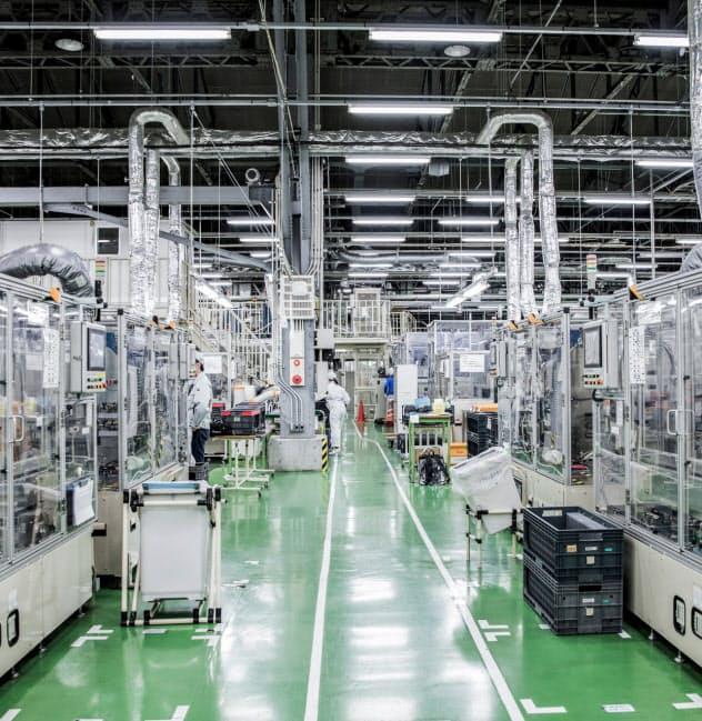 エンビジョンAESCグループの座間工場も次世代電池を生産する