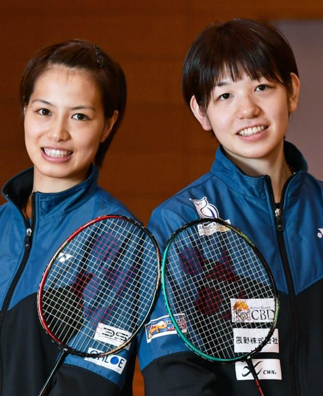 福島(左)・広田組は重圧を乗り越え、五輪切符をつかもうとしている