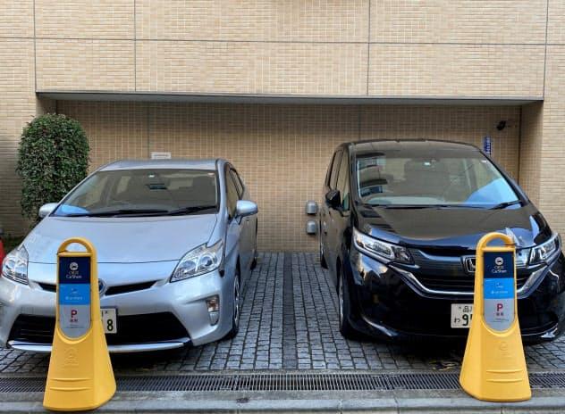 マンションの空き駐車場を使ってカーシェアを展開(東京都内)