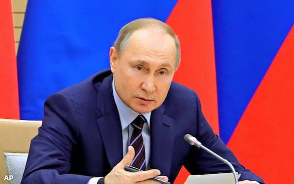 プーチン大統領は、2024年以降の支配体制を固め始めた=AP